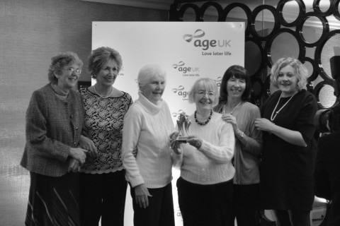 Age UK Winner Team