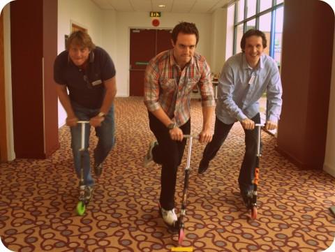 Team Building Scooters GITZ