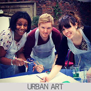 Urban Art | Team Building Activity from Zing Events