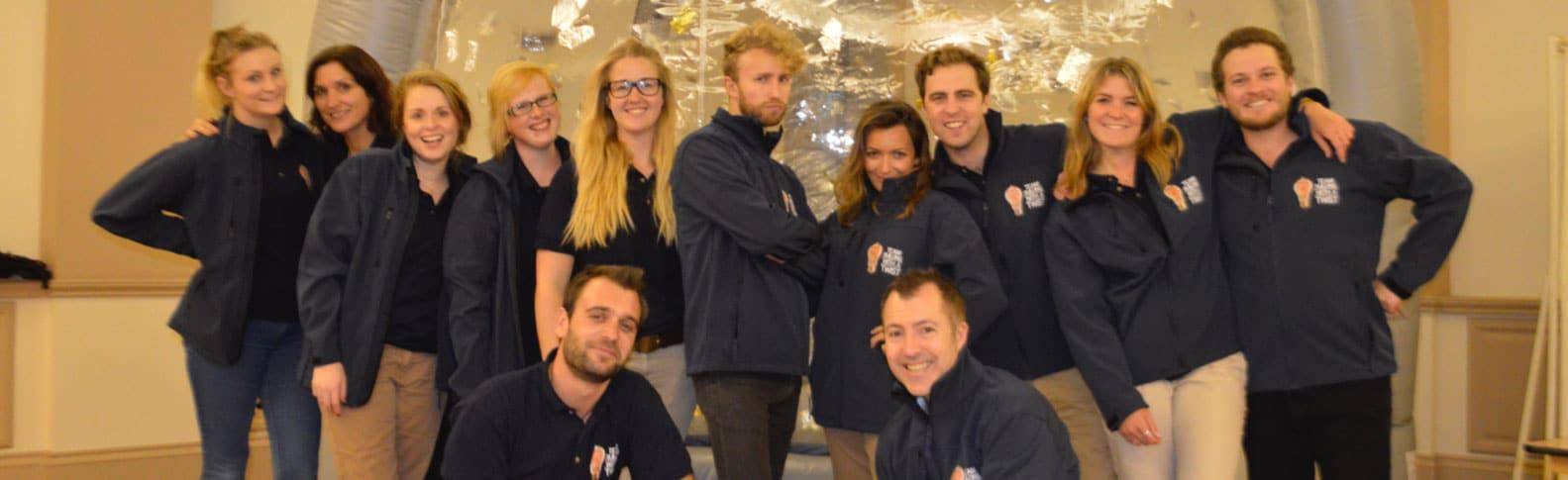 Indoor Crystal Maze Team Building Event