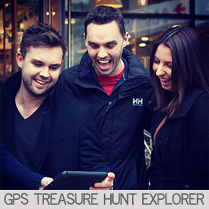 GPS Treasure Hunt Explorer